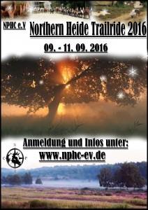 Heidetrail 2016 Plakat